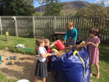 garden club sandpit