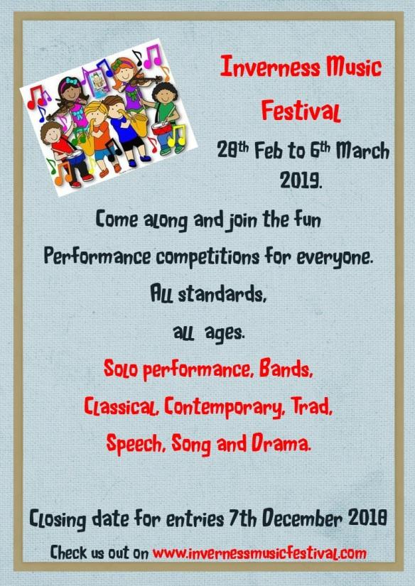 Child festival flyer